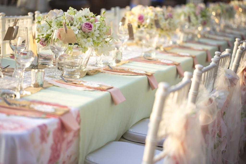 La decoración: un elemento fundamental al celebrar una boda